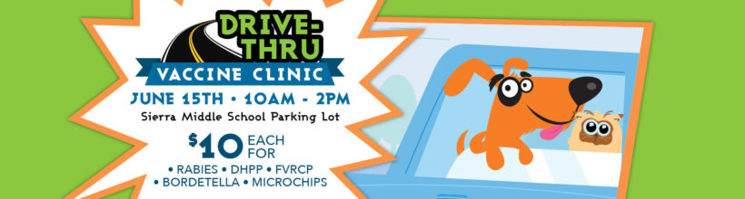 Drive Through Vaccine Clinic – June 15th